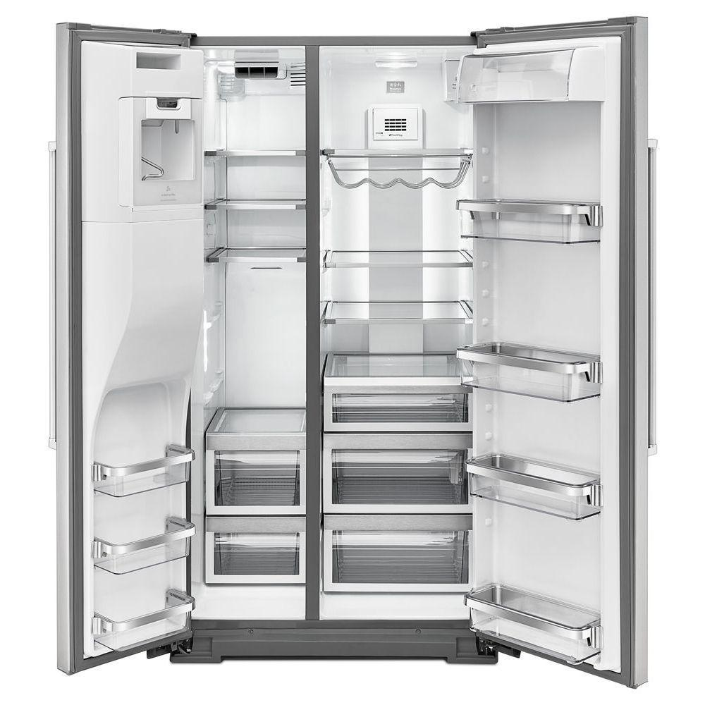 KitchenAid KRSF505ESS 24.8 cu. ft. Side by Side Refrigerator