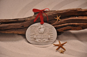 U.S. Marines Corp Sand Ornament