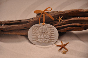 U.S. Army Sand Ornament