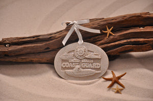 U.S. Coast Guard Sand Ornament