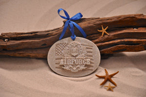 U.S.  Air Force Sand Ornament