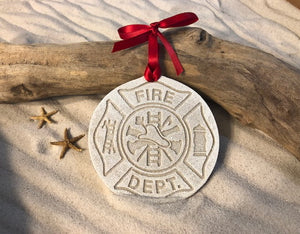 Firemen/Firefighter Sand Ornament