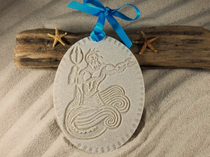 Neptune Under the Sea Sand Ornament