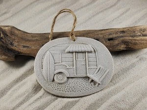 BEACH CAMPER SAND ORNAMENT
