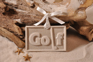 Golf Sign Sand Ornament
