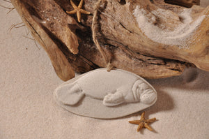 Manatee (Sea Cow) Sand Ornament