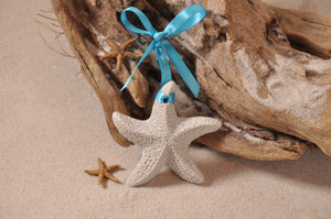 STARFISH ORNAMENT, STARFISH SAND ORNAMENT, STARFISH, TROPICAL SEASIDE ORNAMENT, COASTAL BEACH GIFT, MADE IN FLORIDA, BEACH LOVER GIFTS, BEACH SAND KEEPSAKES, VACATION SOUVENIR, GIFT SHOP OWNERS, PROMOTIONAL ITEMS, PARTY FAVOR, SPECIAL EVENT, COLLECTIBLES, HAND-CRAFTED, FUNDRAISER, BRIDAL SHOWER FAVORS, DESTINATION WEDDING, BEACH WEDDING FAVORS