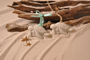 Sea Turtle (small) Sand Ornament