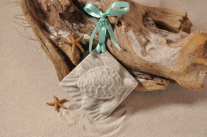 Sea Turtle (Large) Sand Ornament