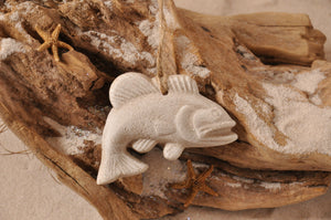 GROUPER FISH, BASS FISH, FISHERMAN, FISH ORNAMENT, SAND ORNAMENT, TROPICAL SEASIDE ORNAMENT, COASTAL BEACH GIFT, MADE IN FLORIDA, BEACH LOVER GIFTS, BEACH SAND KEEPSAKES, VACATION SOUVENIR, GIFT SHOP OWNERS, PROMOTIONAL ITEMS, PARTY FAVOR, SPECIAL EVENT, COLLECTIBLES, HAND-CRAFTED, FUNDRAISER