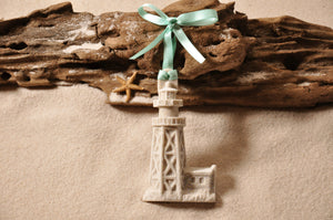 Sanibel Lighthouse Sand Ornament