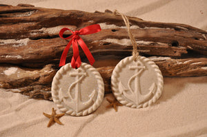 Anchor Sand Ornament
