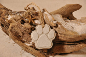 Cat/Dog Paw Sand Ornament