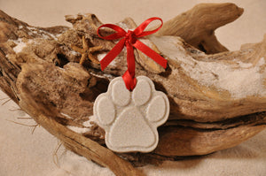CAT PAW PRINT, DOG PAW PRINT, ANIMAL LOVER, ORNAMENT, SAND ORNAMENT, TROPICAL SEASIDE ORNAMENT, COASTAL BEACH GIFT, MADE IN FLORIDA, BEACH LOVER GIFTS, BEACH SAND KEEPSAKES, VACATION SOUVENIR, GIFT SHOP OWNERS, PROMOTIONAL ITEMS, PARTY FAVOR, SPECIAL EVENT, COLLECTIBLES, HAND-CRAFTED, FUNDRAISER