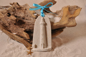 PONCE INLET LIGHTHOUSE ORNAMENT, LIGHTHOUSE SAND ORNAMENT, PONCE INLET, TROPICAL SEASIDE ORNAMENT, COASTAL BEACH GIFT, MADE IN FLORIDA, BEACH LOVER GIFTS, BEACH SAND KEEPSAKES, VACATION SOUVENIR, GIFT SHOP OWNERS, PROMOTIONAL ITEMS, PARTY FAVOR, SPECIAL EVENT, COLLECTIBLES, HAND-CRAFTED, FUNDRAISER, BRIDAL SHOWER FAVORS, DESTINATION WEDDING, BEACH WEDDING FAVORS