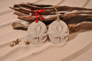Maple Leaf Sand Ornament