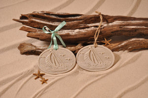 Sailboat Sand Ornament
