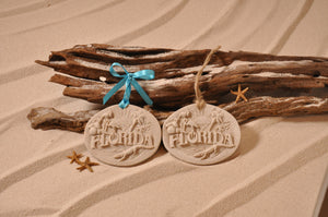 FLORIDA ORNAMENT, FLORIDA, SAND ORNAMENT, TROPICAL SEASIDE ORNAMENT, COASTAL BEACH GIFT, MADE IN FLORIDA, BEACH LOVER GIFTS, BEACH SAND KEEPSAKES, VACATION SOUVENIR, GIFT SHOP OWNERS, PROMOTIONAL ITEMS, PARTY FAVOR, SPECIAL EVENT, COLLECTIBLES, HAND-CRAFTED, FUNDRAISER