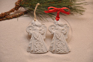 Angel Christmas Sand Ornament