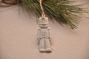 Nutcracker Toy Soldier Sand Ornament