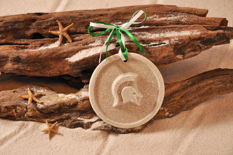 No matter what your brand, your logo would look fantastic as a sand art ornament