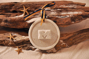 University of Michigan Logo Sand Ornament