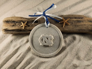 Tar Heels, Go Heels, North Carolina Tar Heels, University of North Carolina Ornament, Sand Ornament