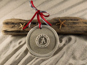 Crimson Tide, University of Alabama, Alabama Crimson Tide, Sand Ornament