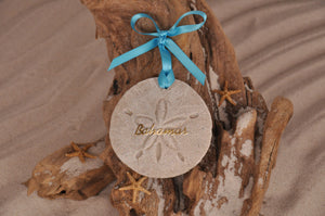 BAHAMAS, BAHAMAS SAND DOLLAR, SAND ORNAMENT, TROPICAL SEASIDE ORNAMENT, COASTAL BEACH GIFT, MADE IN FLORIDA, BEACH LOVER GIFTS, BEACH SAND KEEPSAKES, VACATION SOUVENIR, GIFT SHOP OWNERS, PROMOTIONAL ITEMS, PARTY FAVOR, SPECIAL EVENT, COLLECTIBLES, HAND-CRAFTED, FUNDRAISER, DESTINATION WEDDING, BEACH WEDDING FAVORS