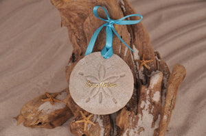 Boca Raton Sand Dollar Ornament