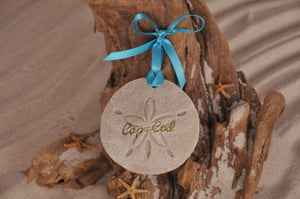 Cape Cod Sand Dollar Ornament