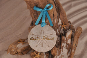 Captiva Island Sand Dollar Ornament