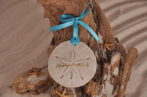 Clearwater Beach Sand Dollar Ornament