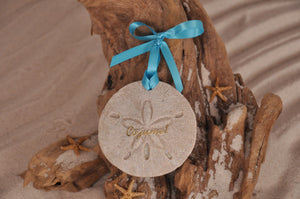 COZUMEL SAND DOLLAR, COZUMEL SAND ORNAMENT, TROPICAL SEASIDE ORNAMENT, COASTAL BEACH GIFT, MADE IN FLORIDA, BEACH LOVER GIFTS, BEACH SAND KEEPSAKES, VACATION SOUVENIR, GIFT SHOP OWNERS, PROMOTIONAL ITEMS, PARTY FAVOR, SPECIAL EVENT, COLLECTIBLES, HAND-CRAFTED, FUNDRAISER, DESTINATION WEDDING, BEACH WEDDING FAVORS