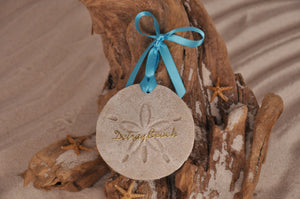 Delray Beach Sand Dollar Ornament