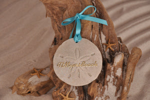 Ft Myers Beach Sand Dollar Ornament