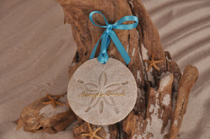 Hampton Beach Sand Dollar Ornament