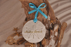 Holden Beach Sand Dollar Ornament