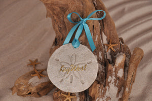 Key West Sand Dollar Ornament