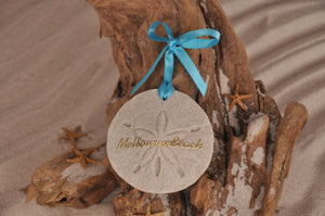 MELBOURNE BEACH SAND DOLLAR, MELBOURNE BEACH SAND ORNAMENT, TROPICAL SEASIDE ORNAMENT, COASTAL BEACH GIFT, MADE IN FLORIDA, BEACH LOVER GIFTS, BEACH SAND KEEPSAKES, VACATION SOUVENIR, GIFT SHOP OWNERS, PROMOTIONAL ITEMS, PARTY FAVOR, SPECIAL EVENT, COLLECTIBLES, HAND-CRAFTED, FUNDRAISER, DESTINATION WEDDING, BEACH WEDDING FAVORS