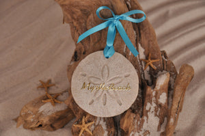 MYRTLE BEACH SAND DOLLAR, MYRTLE BEACH SAND ORNAMENT, TROPICAL SEASIDE ORNAMENT, COASTAL BEACH GIFT, MADE IN FLORIDA, BEACH LOVER GIFTS, BEACH SAND KEEPSAKES, VACATION SOUVENIR, GIFT SHOP OWNERS, PROMOTIONAL ITEMS, PARTY FAVOR, SPECIAL EVENT, COLLECTIBLES, HAND-CRAFTED, FUNDRAISER, DESTINATION WEDDING, BEACH WEDDING FAVORS