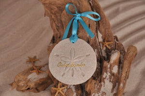 OUTER BANKS SAND DOLLAR, OUTER BANKS SAND ORNAMENT, TROPICAL SEASIDE ORNAMENT, COASTAL BEACH GIFT, MADE IN FLORIDA, BEACH LOVER GIFTS, BEACH SAND KEEPSAKES, VACATION SOUVENIR, GIFT SHOP OWNERS, PROMOTIONAL ITEMS, PARTY FAVOR, SPECIAL EVENT, COLLECTIBLES, HAND-CRAFTED, FUNDRAISER, DESTINATION WEDDING, BEACH WEDDING FAVORS