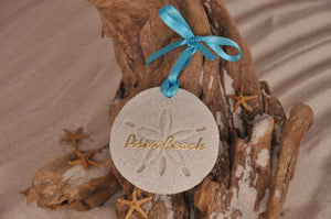 Pismo Beach Sand Dollar Ornament