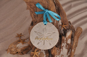 Puerto Rico Sand Dollar Ornament