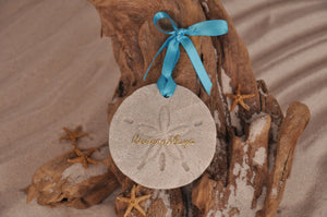 Riviera Maya Sand Dollar Ornament
