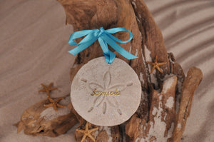 SARASOTA SAND DOLLAR, SARASOTA SAND ORNAMENT, TROPICAL SEASIDE ORNAMENT, COASTAL BEACH GIFT, MADE IN FLORIDA, BEACH LOVER GIFTS, BEACH SAND KEEPSAKES, VACATION SOUVENIR, GIFT SHOP OWNERS, PROMOTIONAL ITEMS, PARTY FAVOR, SPECIAL EVENT, COLLECTIBLES, HAND-CRAFTED, FUNDRAISER, DESTINATION WEDDING, BEACH WEDDING FAVORS