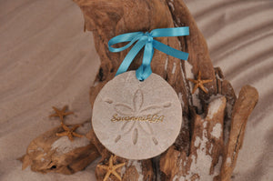 SAVANNAH SAND DOLLAR, SAVANNAH SAND ORNAMENT, TROPICAL SEASIDE ORNAMENT, COASTAL BEACH GIFT, MADE IN FLORIDA, BEACH LOVER GIFTS, BEACH SAND KEEPSAKES, VACATION SOUVENIR, GIFT SHOP OWNERS, PROMOTIONAL ITEMS, PARTY FAVOR, SPECIAL EVENT, COLLECTIBLES, HAND-CRAFTED, FUNDRAISER, DESTINATION WEDDING, BEACH WEDDING FAVORS