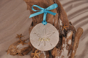 St Kitts Sand Dollar Ornament