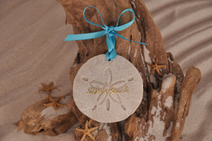 St Pete Beach Sand Dollar Ornament