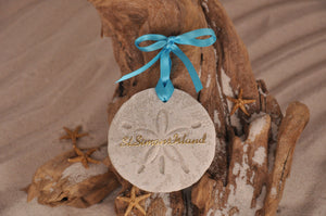 ST SIMONS ISLAND SAND DOLLAR, ST SIMONS ISLAND SAND ORNAMENT, TROPICAL SEASIDE ORNAMENT, COASTAL BEACH GIFT, MADE IN FLORIDA, BEACH LOVER GIFTS, BEACH SAND KEEPSAKES, VACATION SOUVENIR, GIFT SHOP OWNERS, PROMOTIONAL ITEMS, PARTY FAVOR, SPECIAL EVENT, COLLECTIBLES, HAND-CRAFTED, FUNDRAISER, DESTINATION WEDDING, BEACH WEDDING FAVORS